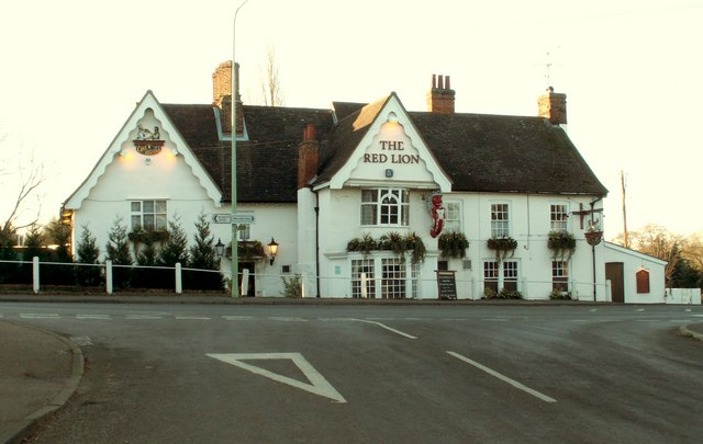 the red lion inn Martlesham